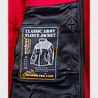 Куртка CLASSIC ARMY - Fleece Windblocker Black, фото 2