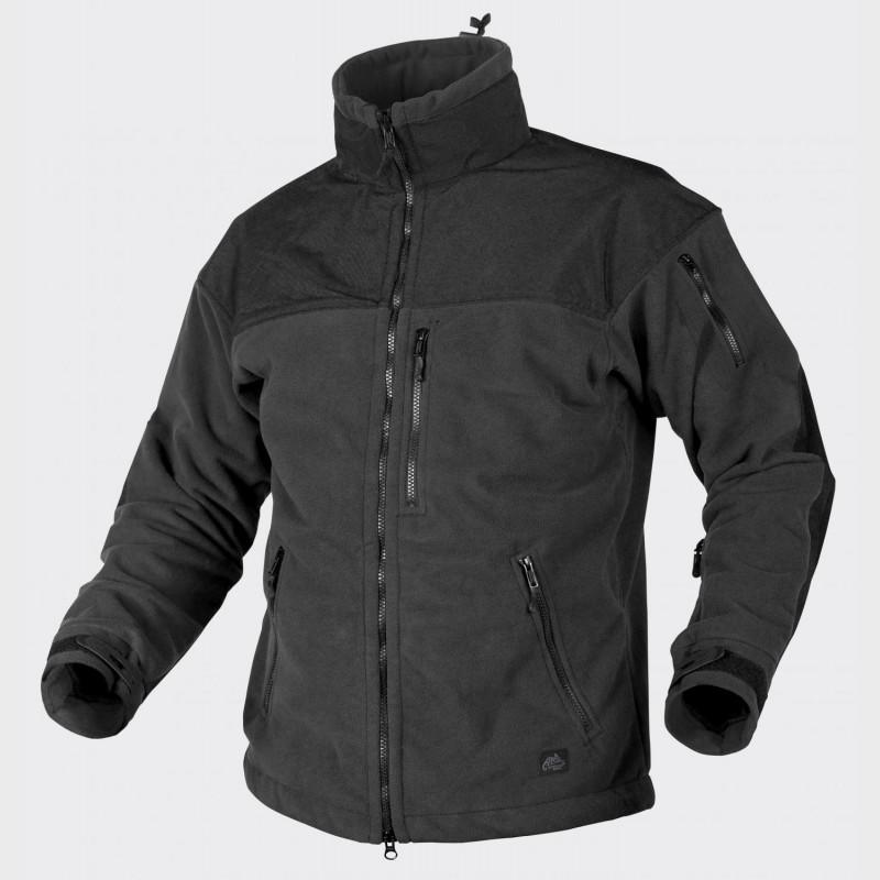 Куртка CLASSIC ARMY - Fleece Windblocker Black