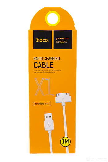 Data cable IPhone 4 Hoco UP301 1метр