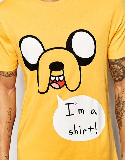 """Футболка  """"Adventure Time Print And Relaxed Skater Fit"""""""