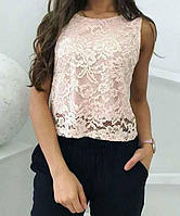 Блуза гипюровая женская , фото 1