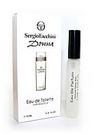 Женский мини-парфюм с феромонами Sergio Tacchini Donna (Серджио Таччини Донна), 10 мл