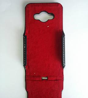 Чохол Flip шкіра для Samsung моделі j110, фото 2