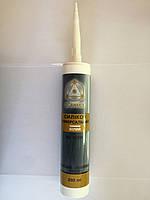 Герметик силикон универсальный белый 280мл Scanmix (2000000108636)