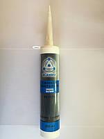 Герметик силикон санитарный белый 280мл Scanmix (2000000108650)