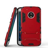 Чехол бампер iron man для Moto G5 Plus
