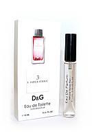Женский мини-парфюм с феромонами Dolce Gabbana 3 L`Imperatrice (Дольче Габбана Императрица),10 мл