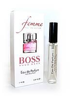 Женский мини-парфюм с феромонами Hugo Boss Femme (Хьюго Босс Фем),10 мл