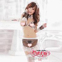 Игровой костюм Горничная, сексуальный игровой костюм Горничная, костюм для ролевых  игр S-M