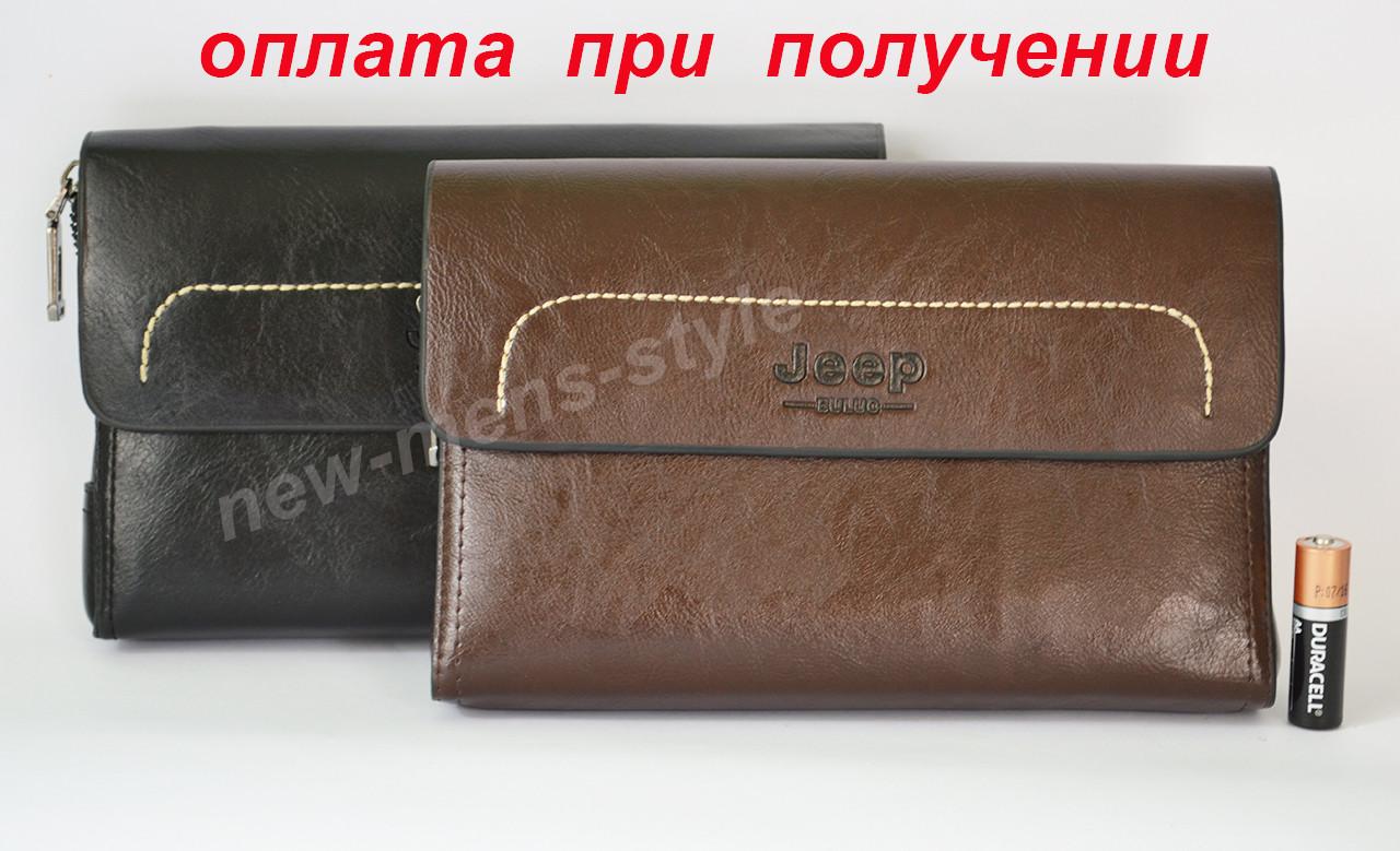 Мужская кожаная барсетка кошелек портмоне клатч гаманець Polo new!