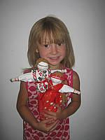 "Кукла-мотанка .""Парочка ""Анна + Арсен"", фото 1"