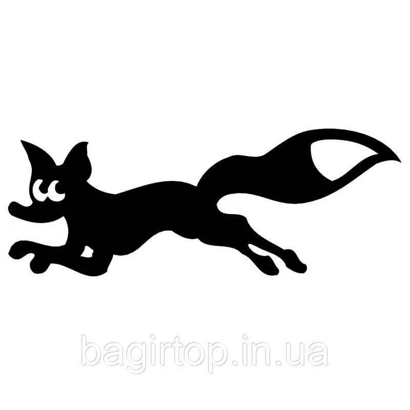 Виниловая интерьерная наклейка - Лисичка 2