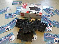 Колодки передние тормозные Ferodo FDB96 ВАЗ 2101 - 2107, фото 1