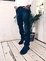 Джинсы Fangsida 0023 на флисе мужские