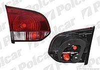 Фонарь задний внутр НВ VW Golf 6 08-13