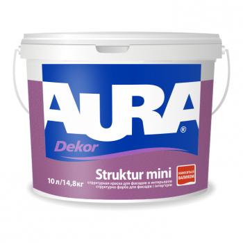 Aura Dekor Struktur mini 2,3л - фасадная мелкоструктурная краска