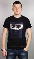 Мужская футболка Iceberg 1041 черная, белая