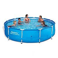 Каркасный бассейн bestway 56418 366 х 100 см.