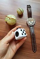 Fidget Cube Фиджет куб Кубик Белый с черными кнопками антистресс с кнопками Кубик Fidget cube 3х3 cм