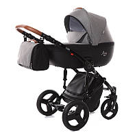Универсальная детская коляска 2в1 Junama Impulse Madena Shwarz