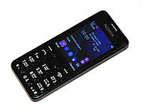 """Мобильный телефон Nokia N206 (2SIM) 2,4"""" FM, ФОНАРИК black черный Гарантия!"""