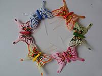 Бабочки декоративные натуральные
