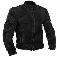 Xelement Mens Black Denim Cruiser Motorcycle Jacket Sz.M Мотокуртка джинсовая