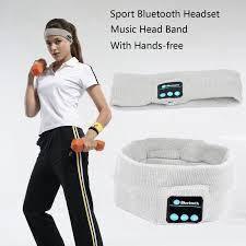 Блютуз бандана для фитнеса повязка headband