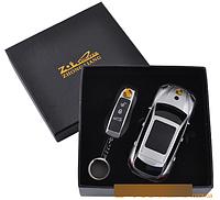 Подарочный набор 2в1 Сувенирная зажигалка + зажигалка-брелок Porsche Cayenne №4426-3 SO
