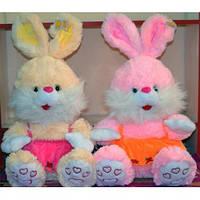 """Мягкая игрушка """"Заяц в платье"""" большой, 2 цвета, Sun Toys, 2323-42"""