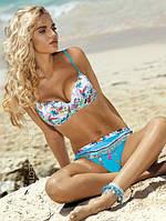 Яркий польский купальник Self  Palm beach S 711 C17