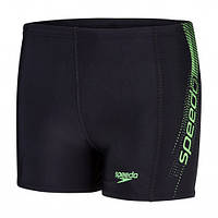 Плавки детские Speedo Sports Logo Panel Aquashort Black Green