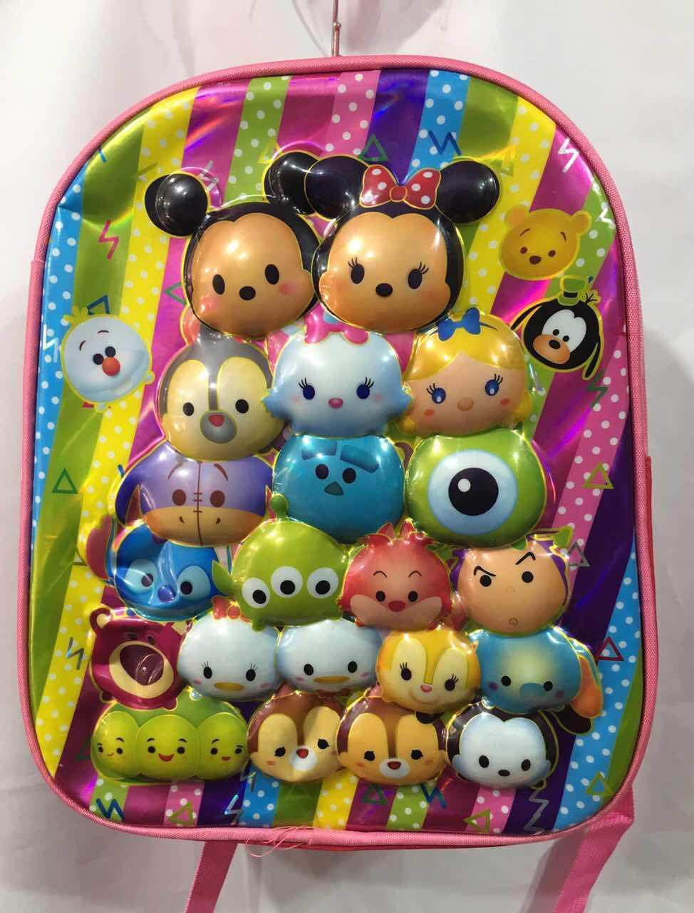 Рюкзак для девочки с ортопедической спинкой (35х27)