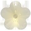 Хрустальные подвески цветок Preciosa (Чехия) 14 мм Crystal Blond Flare