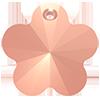 Хрустальные подвески цветок Preciosa (Чехия) 14 мм Crystal Capri Gold