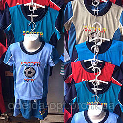 Детский костюм шорты+футболка