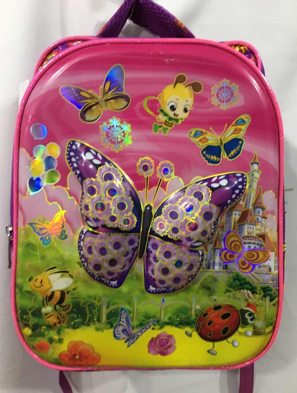 Рюкзак для девочки с ортопедической спинкой (39х29)