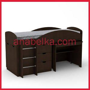 Кровать двухярусная  Универсал (Компанит)
