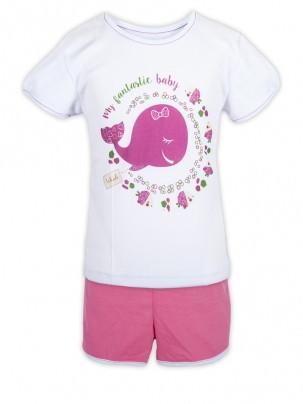 Комплект детский Бетси (шотры, футболка), 2КП-412 - Товары для всей семьи ОПТОМ в Днепропетровской области