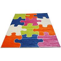 Детский коврик пазл FULYA 8C10A blue, 2x2.9, Прямоугольник