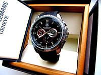 Супермодные мужские кварцевые часы Tag Heuer Mercedes-Benz. Высокое качество. Практичные часы. Код: КДН1824