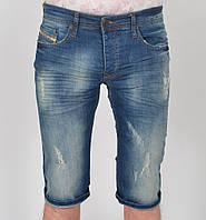 Чоловічі джинсові шорти з потертостями DIESEL - Туреччина