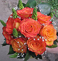 Свадебный букет Роза импортная