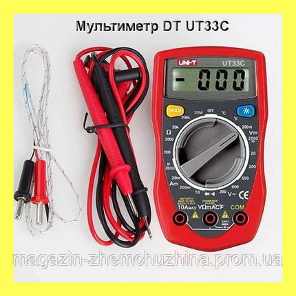 Мультиметр DT UT33C!Опт , фото 2