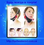 Маски-бандажи для коррекции овала лица.