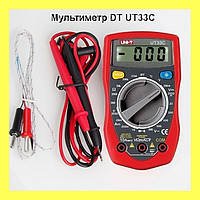 Мультиметр DT UT33C
