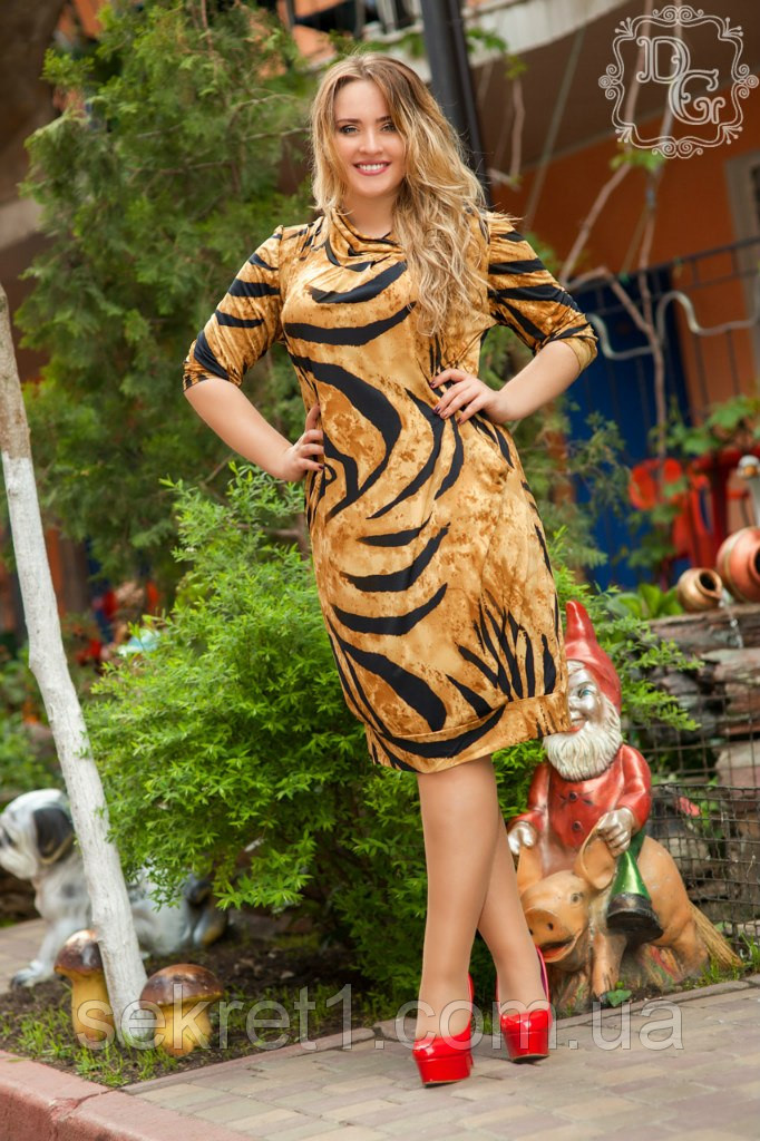 Платье Бат1 ЛЕО (батал) ГЛ, фото 1