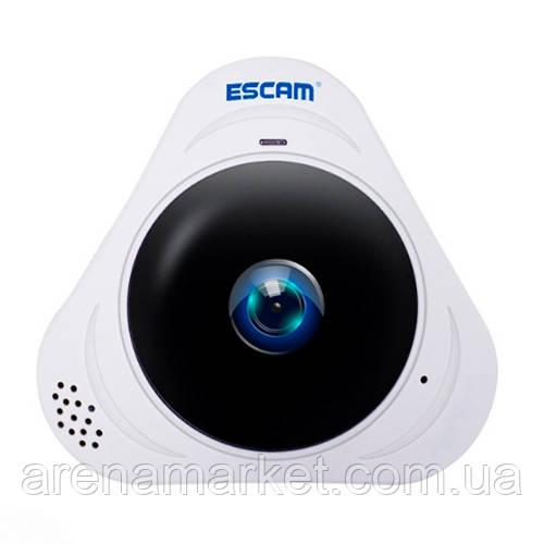 Панорамная IP-камера ESCAM Q8 960P 1.3MP 360° градусов - белый