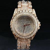 """Шикарные часы с фианитами """"Золото"""" от студии LadyStyle.Biz, фото 1"""