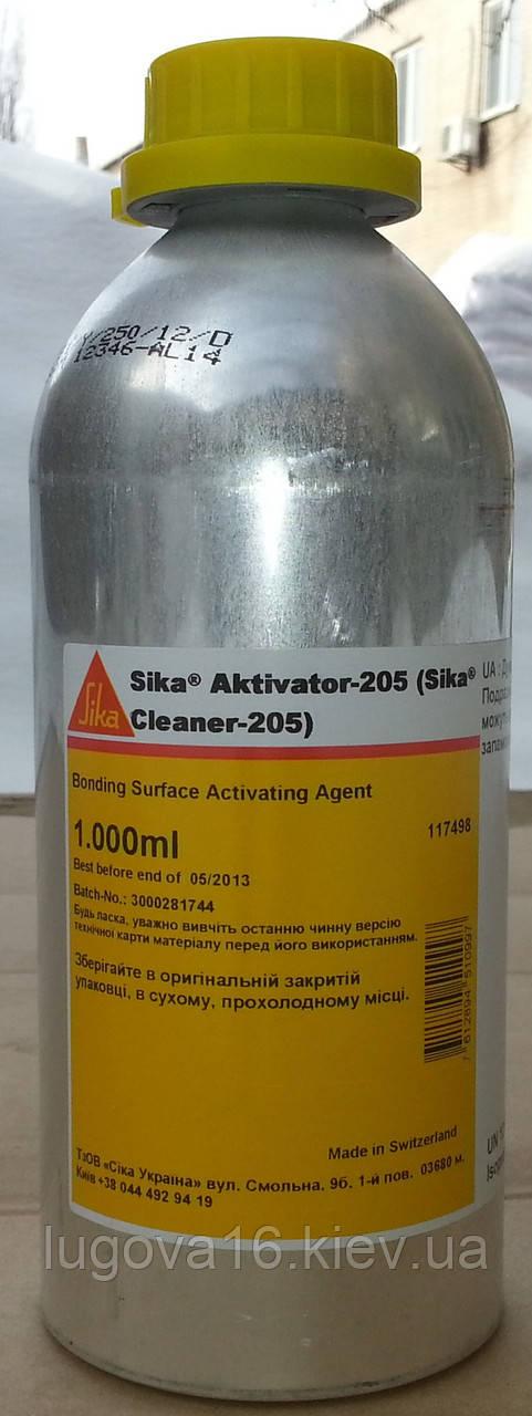 Очиститель и активатор для соединяемых поверхностей Sika Cleaner-205, 1л